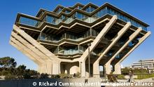 A picture of Geisel Library at the University of California San Diego