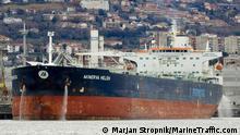 Öltanker Minerva Helen | Bild der Seite marinetraffic.com