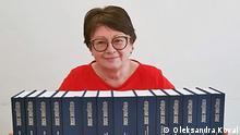 Oleksandra Koval vom ukrainischen Buchinstitut
