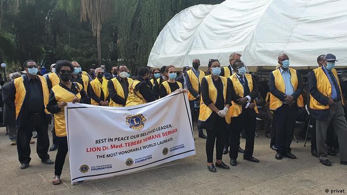 Äthiopien Addis Abeba | Bestattung Tibebe Yemanebirhan