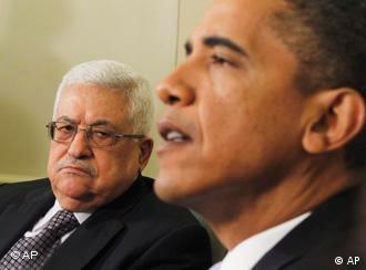 Барак Обама и Махмуд Абас
