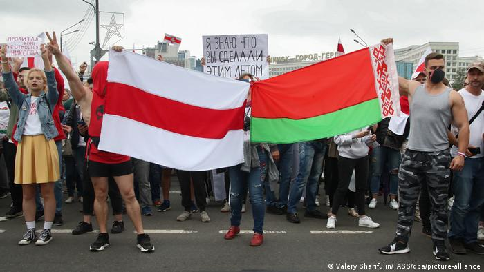 Протесты в Минске, август 2020 года