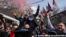 Armenien Jerevan | Demonstranten fordern Rücktritt von Nikol Pashinyan