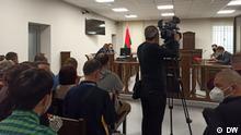 Belarus Brest |Prozess gegen Teilnehmer der Proteste