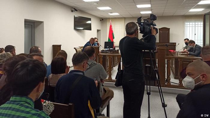 На заседании в Брестском областном суде