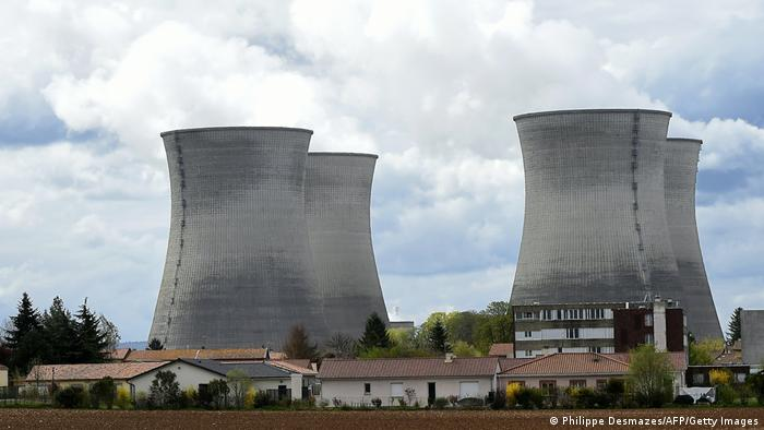 The Bugey nuclear power plant in Saint-Vulbas