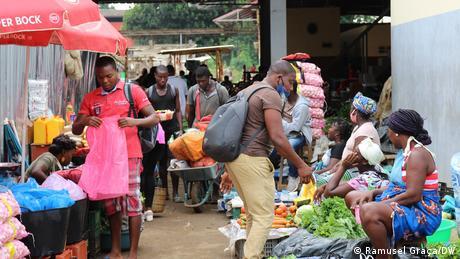 Sankt Tomé und Principe | Coronavirus | Gemüsemarkt