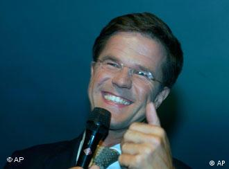 Mark Rutte, leader of the Liberals
