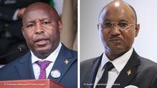 Kombobild | Evariste Ndayishimiye und Alain Guillaume Bunyoni