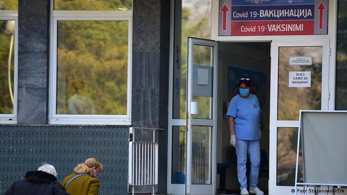 Nord-Mazedonien | Coronavirus | Impfungen in Skopje