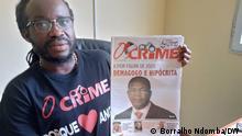 Angola | Zeitung O Crime | Herausgeber Mariano Brás