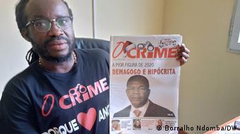 Angola   Zeitung O Crime   Herausgeber Mariano Brás