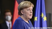 Deutschland | EU-Gipfel | PK Bundeskanzlerin Angela Merkel