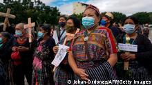 Guatemala I Proteste zum Jahrestag