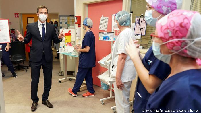 Gesundheitsminister Olivier Veran