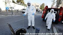 Ausbruch des Coronavirus in Frankreich