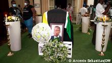 Mosambik, Beira I Beerdigung von Daviz Simango
