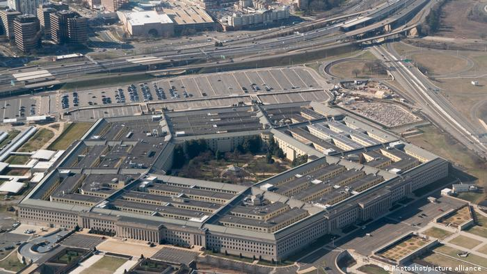The Pentagon in Washington DC