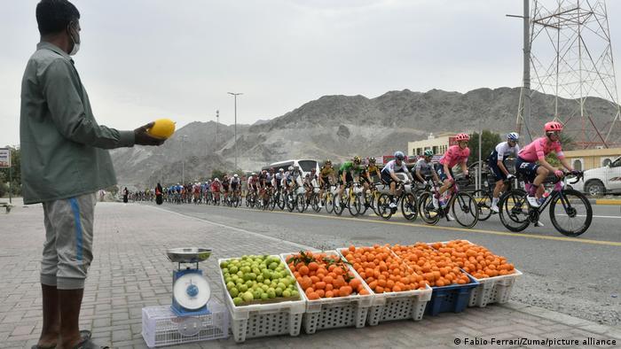 BdTD Vereinigte Arabische Emirate, UAE-Tour | Obsthändler