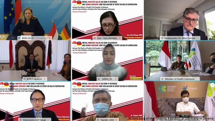 Deklarasi Bersama Kerja Sama Kesehatan antara Indonesia dan Jerman, Kamis (25/02)