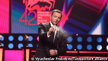 Russland Moskau 2020 |Internationales Filmfestival |Alexei Agranowitsch, Schauspieler