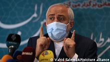 Iran Teheran | Außenminister Mohammad Javad Zarif