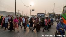 Bangladesh Garments worker Description: Bangladesh Readymade Garment sector have lost their jobs during Coronavirus Pandemic. Tag:Bangladesh, Garments, Coronavirus, Pandemic Copyright: Mortuza Rashed