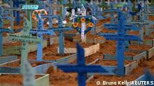 Weltspiegel 26.02.2021 | Brasilien | Friedhof mit Covid-19-Totesopfern in Manaus