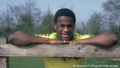 Former British football player Justin Fashanu