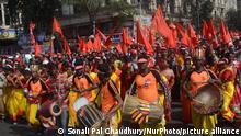 Indien Kalkutta 2019 |CPI Brigade Parade