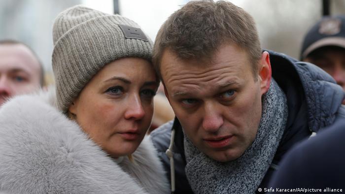Юлия и Алексей Навальные (фото из архива)