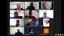 V-Sprint Kenia Videokonferenz