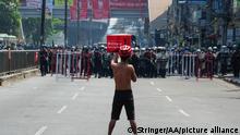 Myanmar Rangun | Proteste gegen Militärputsch