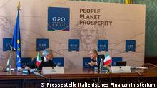 G20 Finanzministertreffen Daniele Franco Ignazio Visco