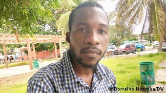 Aktivist Adilson Manuel aus Angola