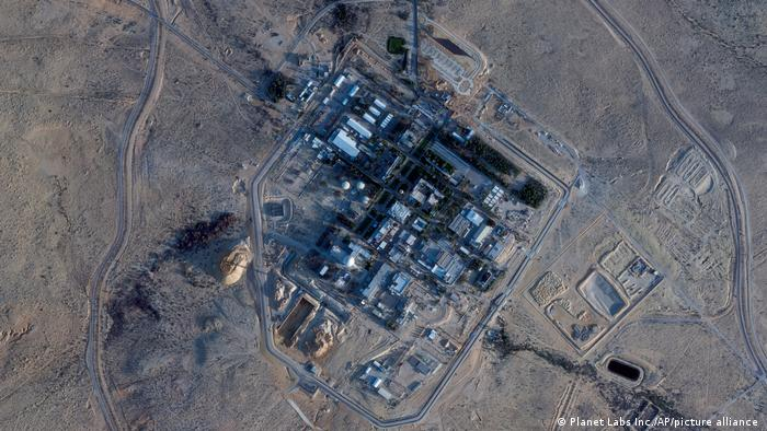 The Shimon Peres Negev Nuclear Research Center near the city of Dimona, Israel. (Planet Labs Inc. via AP)