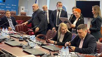 Участники встречи в ЦИК с Эллой Памфиловой