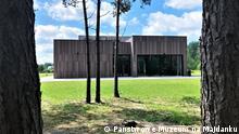 Gedenkstätte im ehemaligen deutschen Vernichtungslager Sobibor. Copyright: Państwowe Muzeum na Majdanku +++Bilder von der neuen Ausstellung des Museums und der Gedenkstätte Sobibor, die im Oktober 2020 eröffnet wurde.+++