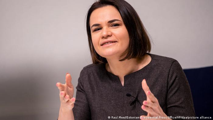 Лидер белорусской оппозиции, экс-кандидат в президенты Беларуси Светлана Тихановская