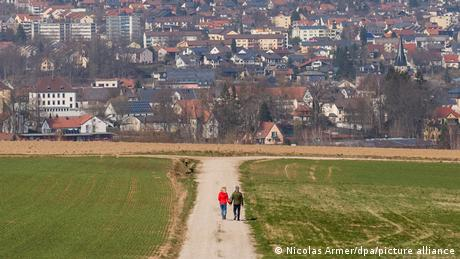 Wunsiedel, a district at the German-Czech border, is struggling with high coronavirus infection rates.