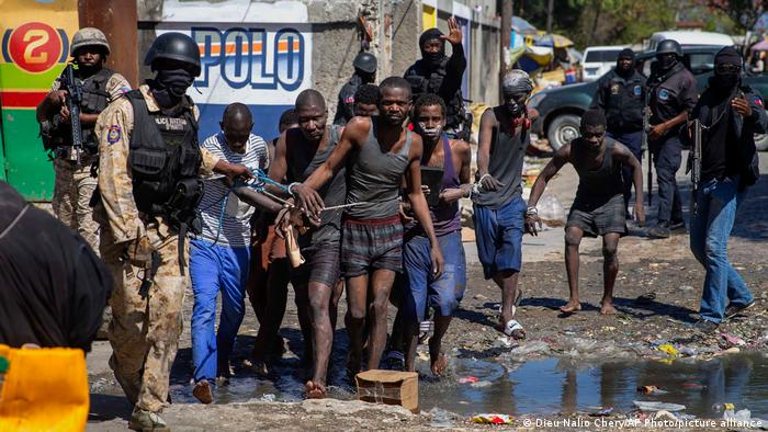 Neki od ponovo uhapšenih begunaca
