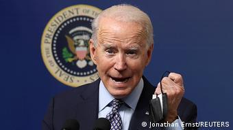 Washington U.S. Präsident Biden Rede Corona Impfungen