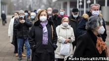 Serbien Belgrad Impfstart Coronavirus