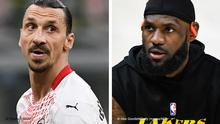 Zlatan İbrahimoviç ve LeBron James
