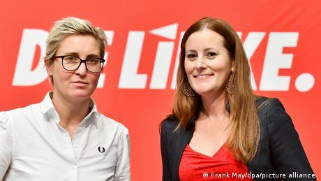 Susanne Hennig-Wellsow (left) and Janine Wissler