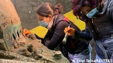 Italien Pompei |Ausgrabungen |Festzugswagen