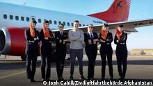 Afghanistan YouTuber Josh Cahill | erster Flug einer weiblichen Crew Kam Air