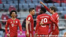 Fußball Bundesliga 23. Spieltag |FC Bayern München vs. 1. FC Köln | 3. TOR Bayern
