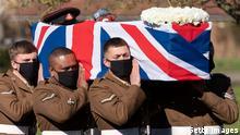 England | Beisetzung Captain Sir Tom Moore