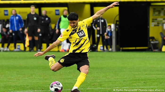 Fußball Bundesliga 23. Spieltag |Borussia Dortmund vs. Arminia Bielefeld | Mahmoud Dahoud